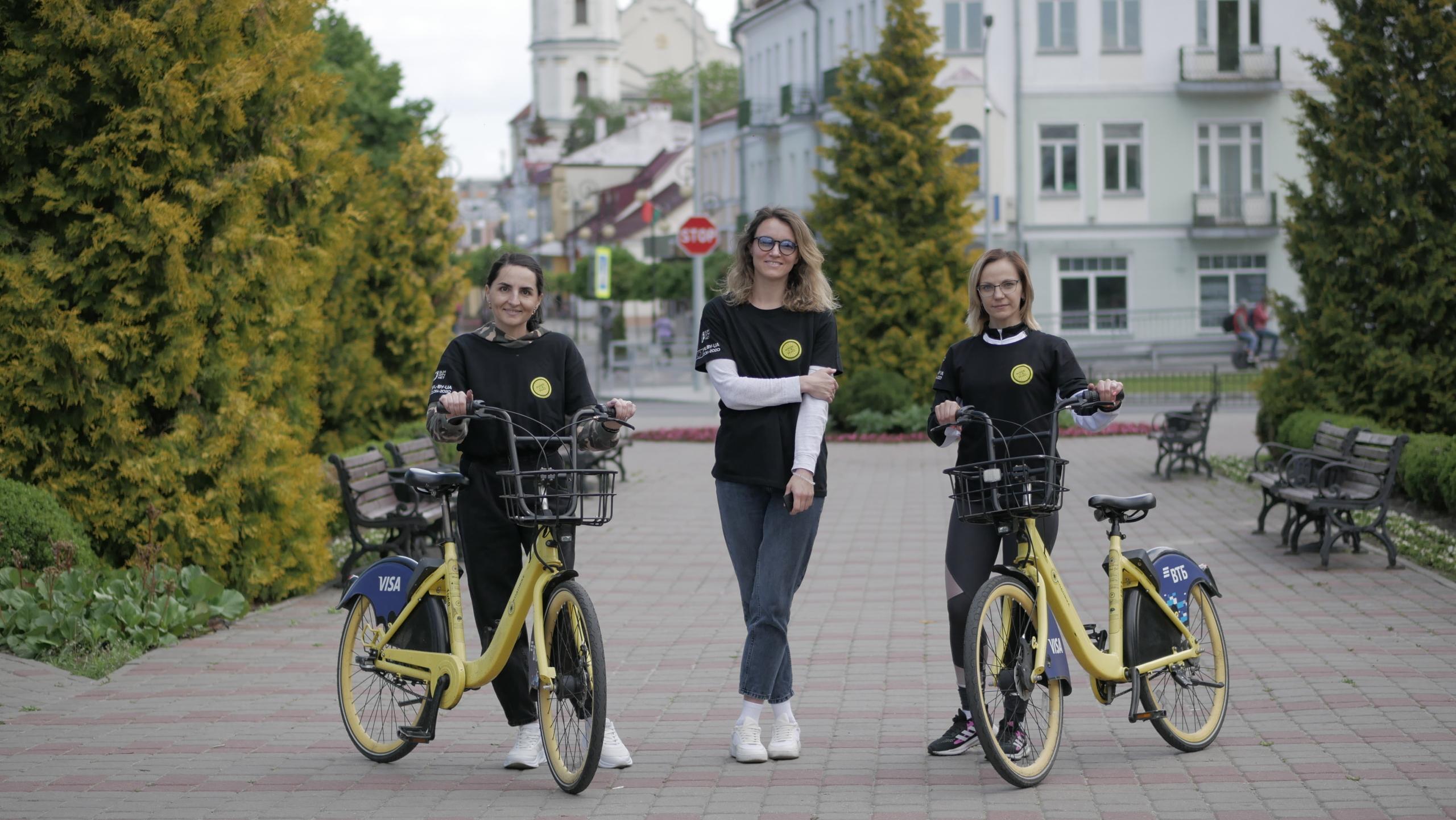 Фонд принял участие в велозаезде «Поделись дорогой» в Пинске
